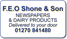 **NO NEWSPAPER DELIVERIES BOXING DAY OR NEW YEARS DAY** | Shone's Dairy
