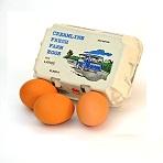 Large Free Range Eggs 1/2 Doz