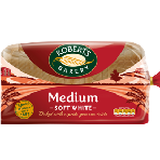 Roberts White Medium Loaf 800g