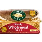 Roberts Wholemeal Med Sliced Loaf 800